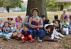 Pre-School Students Visit Farmer Lourie's Pumpkin Patch