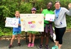 Girls on the Run Volunteer at Race for Refugees 5K