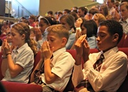 Grades 5 – 8 Enjoy Chapel on Mindfulness