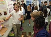 Learning Village Holds Sixth Grade Science Fair